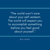 the world - bill gates